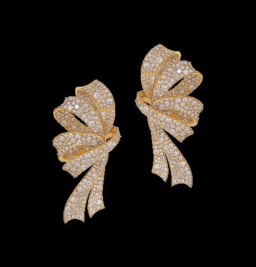 Bow earrings