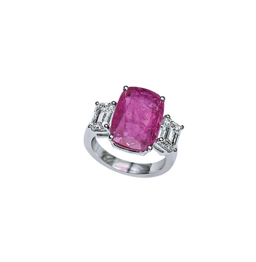 Classic ruby ring