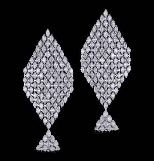 Diamond Mesh earrings