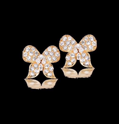 Diamond Bow studs