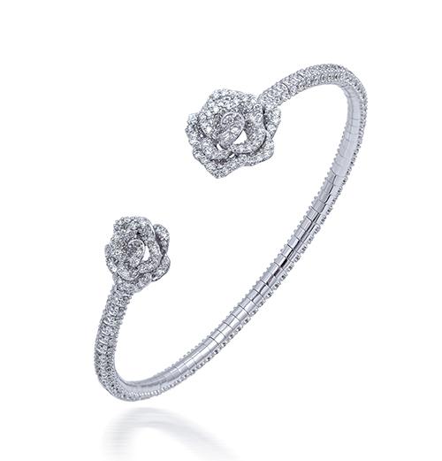 Mini Rose diamond bracelet
