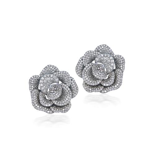 Mini Rose eartops